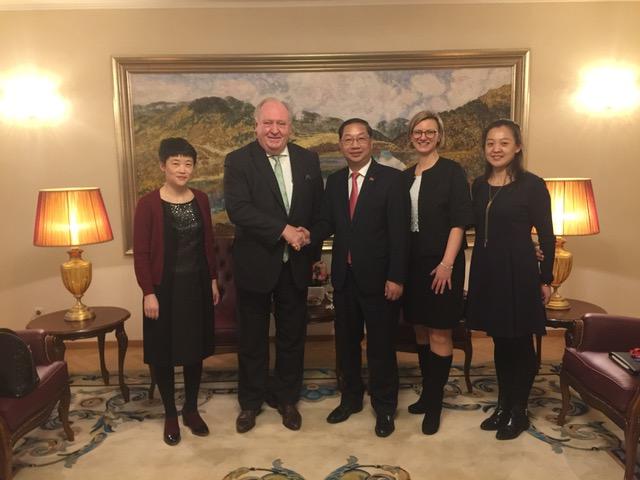 Chinesischer Botschafter wirbt für mehr Vertrauen