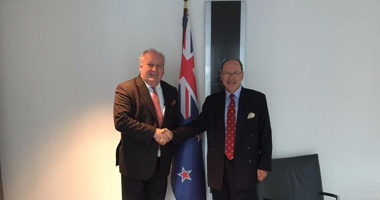 Neuer Neuseeländischer Botschafter wünscht sich mehr sichtbares Europa