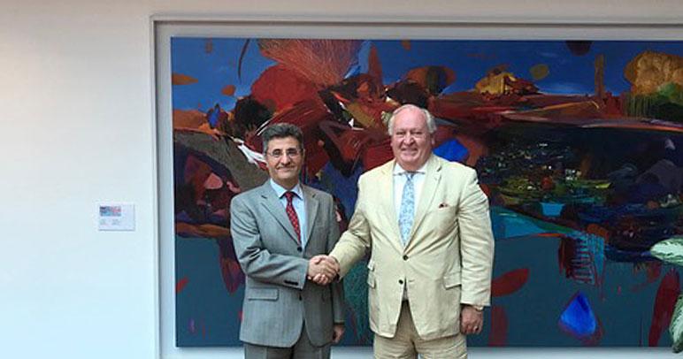 Besuch Türkischer Botschafter Kemal Aydin