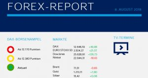 Forex Report 08.08.2018