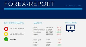 Forex Report 28.08.2020